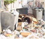 Vía crucis de los desechos